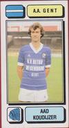 Panini Football 83 Voetbal Belgie Belgique 1983 Sticker AA KAA Gent La Gantoise Nr. 126 Aad Koudijzer - Sports