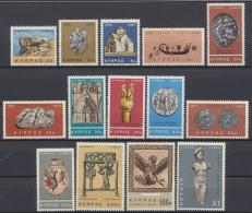 Zypern, MiNr. 273-286, Postfrisch / MNH
