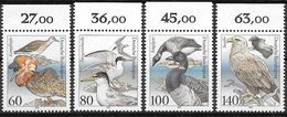 Bund 1991 / MiNr.   1539 – 1542  Oberränder    ** / MNH   (e559)