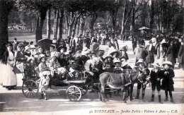 BORDEAUX - Jardin Public: Voiture à Anes, 1916 - France