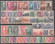 Timbres France Neufs** - Année 1938 (avec 398)