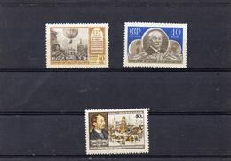 Russie 1956 - YT 1875 1879/80 **