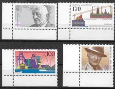 Bund 1991 / MiNr.   1556 , 1557 , 1558 , 1561  Linke Untere Ecken    ** / MNH   (e561)