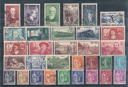 Timbres France Oblitérés - Année 1937