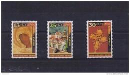 CYPRUS STAMPS CHRISTMAS 2001  25/10/01-MNH-COMPLETE SET