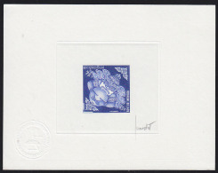 Laos 1971 85k Hanuman Swallowing Moon. Signed Artist Proof. Scott 208. Yvert 225. - Laos