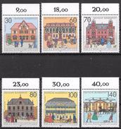 Bund 1991 / MiNr.   1563 – 1568  Oberränder    ** / MNH   (e563)
