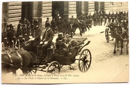 LE ROI ET LA REINE D'ITALIE A PARIS - 1903 - PARIS - Réceptions