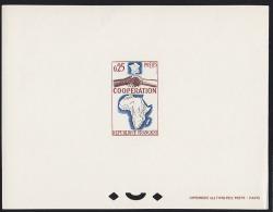 France 1964 0,25Fr African Cooperation. Deluxe Proof. Scott 1111. Yvert 1432. - Epreuves De Luxe
