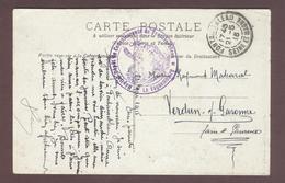 Franchise Militaire Service Santé *  Hôpital - Dépot De Convalescents De Fontainebleau * 1914 - 1918 Seine Et Marne