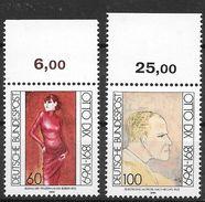Bund 1991 / MiNr.   1572 – 1573  Oberränder    ** / MNH   (e565)