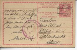 De Vienne Pour Kilchberg Cachet De Controle 1915