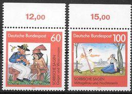 Bund 1991 / MiNr.   1576 – 1577  Oberränder    ** / MNH   (e566)