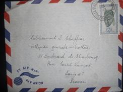 Congo Belge Lettre De Leopolville 1952 Pour Paris