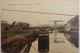 La Louvière La Croyère Pont Du Canal Et Laminoirs - La Louvière