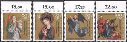 Bund 1991 / MiNr.   1578 – 1581  Oberränder    ** / MNH   (e567)