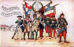 106. REGIMENT D'INFANTERIE, 1918 - Regimente