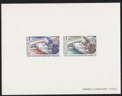 FSAT 1980 Leopard Seals. Compound Deluxe Proof. Scott 92. Yvert 89. - Sin Dentar, Pruebas De Impresión Y Variedades