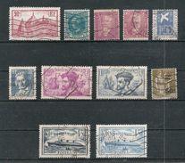 Timbres France Oblitérés - Année 1933 Et 1934 Complètes