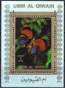 Umm Al-Qiwain 1972 - Butterfly ( Mi 1506A - YT Xxx ) MNH** - Mini Sheet