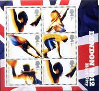 P862.-. GREAT BRITAIN / GRAN BRETAÑA .-. OLYMPIC GAMES LONDON 2012. SHEET MNH.