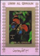 Umm Al-Qiwain 1972 - Butterfly ( Mi 1506B - YT Xxx ) MNH** Imperforated - Mini Sheet