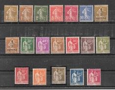 Timbres France Neufs** - Année 1932 Complète