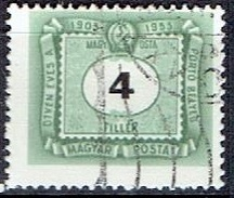 HUNGARY #  FROM 1953  STANLEY GIBBON D1305