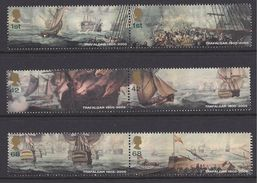 Q038.-. GREAT BRITAIN / GRAN BRETAÑA.-. 2005- MNH. BATTLE OF TRAFALGAR. SHIPS / BARCOS.
