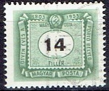 HUNGARY #  FROM 1953  STANLEY GIBBON D1310