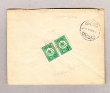 Türkei Kassim-Pacha Brief Nach Galata Mit 10paras (2) - 1858-1921 Empire Ottoman