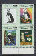 Panama. 2000  Harpy Eagle    Harpia Harpyja  Bloc De Quatre