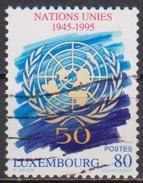 Luxemburg 1995 MiNr.1372  O Gest. 50 Jahre UNO ( 4385 ) - Luxembourg