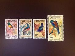 Upper Volta 1965 Birds MNH