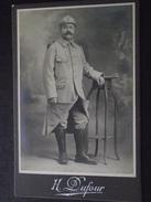64e REGIMENT D'INFANTERIE - Photo Véritable - Par H. Dufour, Photographie à Nevers (Nièvre) -  Guerre 1914-18 - WW1