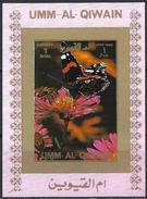 Umm Al-Qiwain 1972 - Butterfly ( Mi 1498B - YT Xxx ) MNH** Imperforated - Mini Sheet