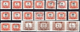 HUNGARY #  FROM 1958  STANLEY GIBBON D1498-1517