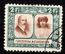 Liechtenstein YT N° 107 Oblitéré. B/TB. A Saisir!