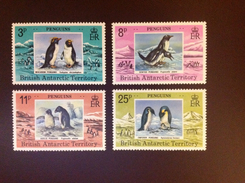British Antarctic Territory 1979 Penguins Birds MNH