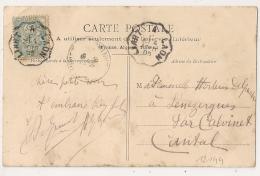Convoyeur LIART A LAON  Ardenne Sur CPA De Pierrepont Aisne. 1905 - Poststempel (Briefe)