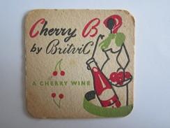 Sous-Bocks Bière Cherry B By Britvic A Cherry Wine Hawaiian Punch - Sous-bocks