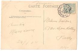 Convoyeur LA FERTE GAUCHER A GRETZ Seine Et Marne. 1905. - Poststempel (Briefe)