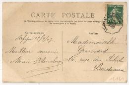 Convoyeur BRIOUDE A AURILLAC Cantal. 1907. - Poststempel (Briefe)