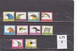 Sierra Leona  -  Lote  10  Sellos Diferentes  Fauna Aves  -  2/1559