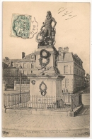 2 Convoyeurs, AUNEAU A MAINTENON Et MAINTENON A DREUX Sur CPA De Chartres. Eure Et Loir. 3 SCANS. - Poststempel (Briefe)
