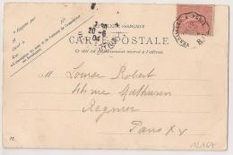 Convoyeur VERSAILLE A PARIS RG. 1904 - Poststempel (Briefe)