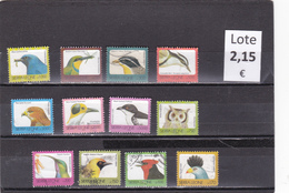 Sierra Leona  -  Lote  12  Sellos Diferentes  Fauna Aves  -  2/1560
