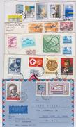 HONGRIE - HUNGARY - MAGYAR POSTA - Beau Lot Varié De 225 Enveloppes Timbrées - Stamped Air Mail Covers  - Stamp - Timbre