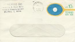 Tennis - Postal Stationery  United States.  H-948 - Tennis