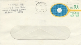 Tennis - Postal Stationery  United States.  H-948